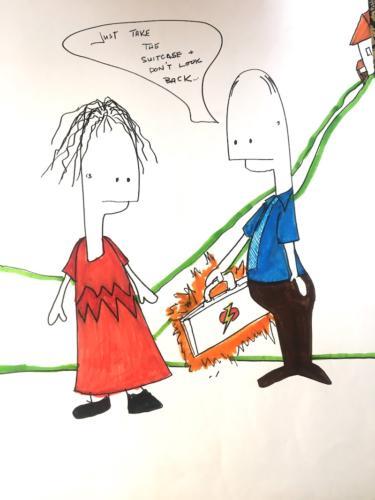 Don't Look Back - Illustration